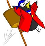 Pirate Black Bird