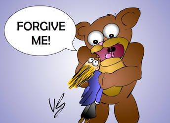 ForGiveness Bear by DizzyVix