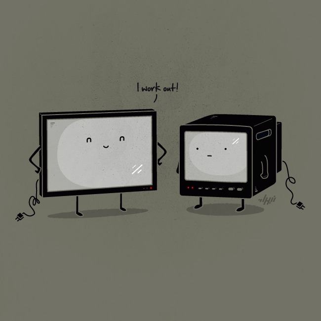 Flat Screen by NaBHaN