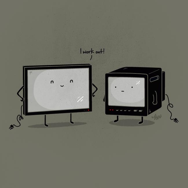Flat Screen by NaBHaN