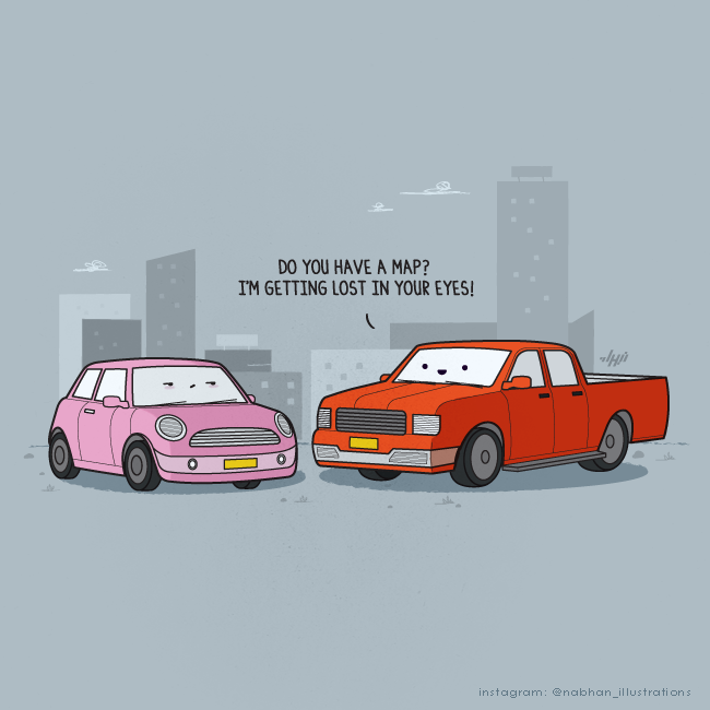 The Pick-Up Line by NaBHaN