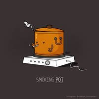 Smoking Pot by NaBHaN