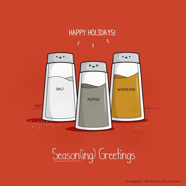 Season(ing) Greetings by NaBHaN