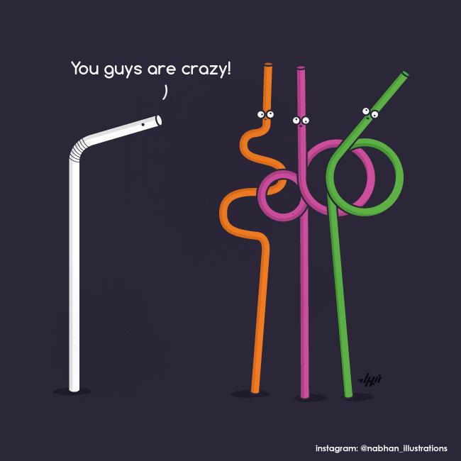 Crazy Straws by NaBHaN