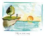 Only an ocean away.. by NaBHaN