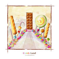 Candy Land by NaBHaN
