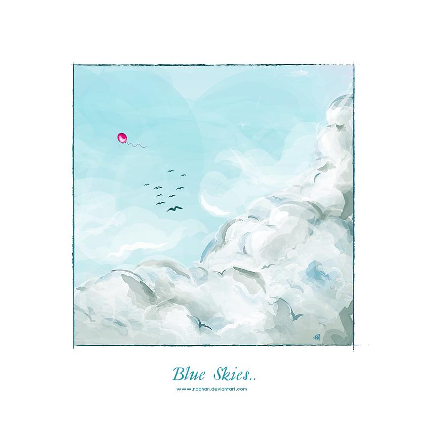 Blue Skies.. by NaBHaN