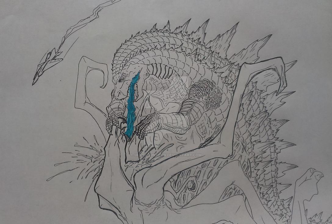 Godzilla Vs Muto By Ultrasunyuan On Deviantart