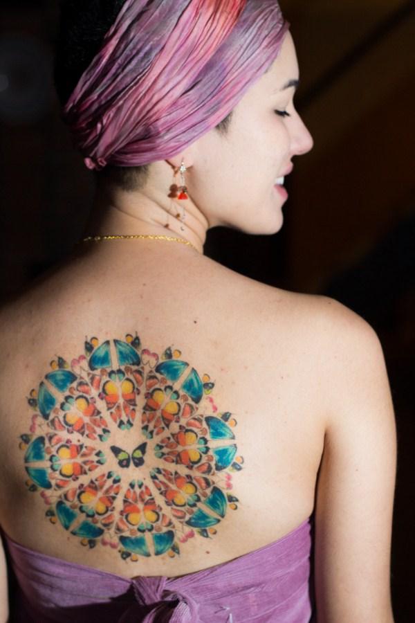 keiko - butterfly mandala healed pic by Janaina