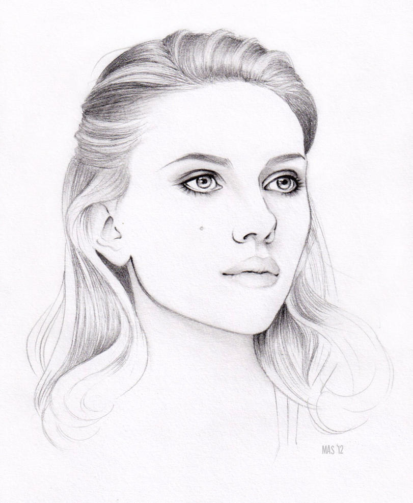 Scarlett Johansson by MoShmoe