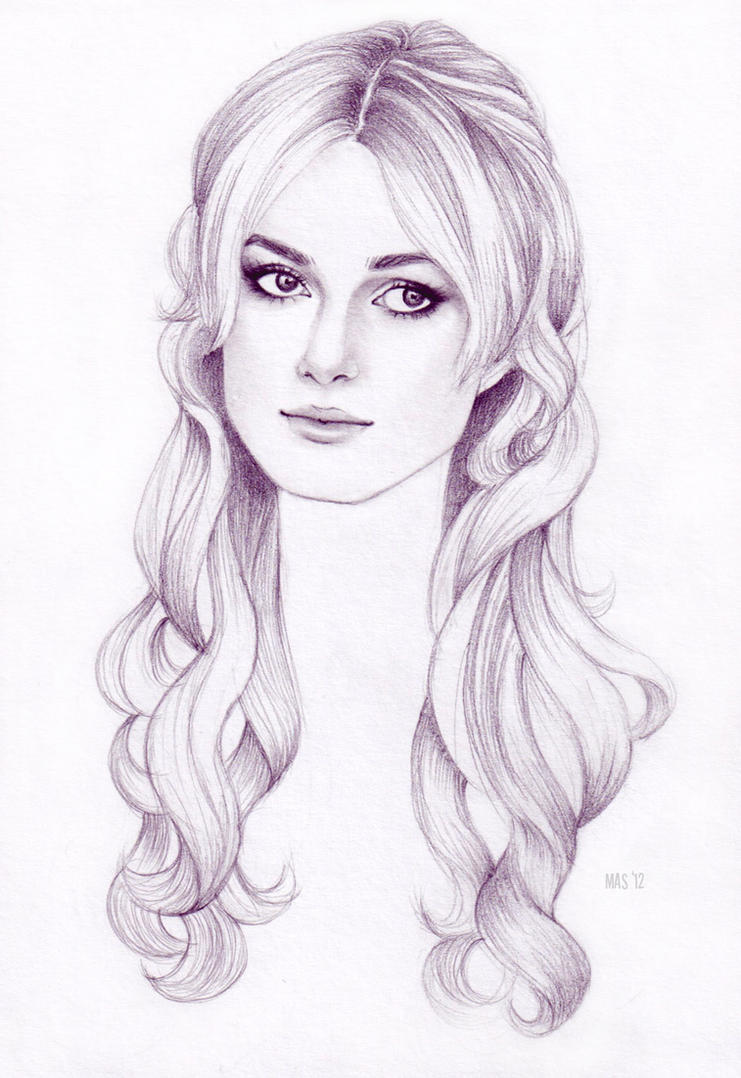 Keira Knightley by MoShmoe