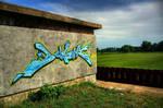 graffiti in HDR