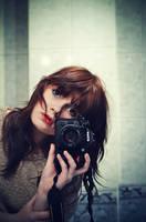Hello mirror by paintedpoppy
