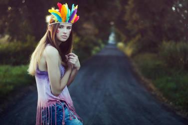 This girl likes indie rock by paintedpoppy