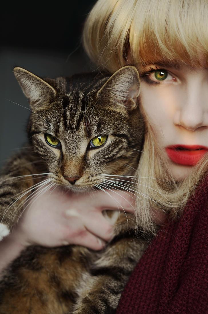 A cat-torturer by paintedpoppy