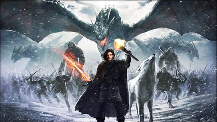 The King Of The North:Jon Stark Targaryn!