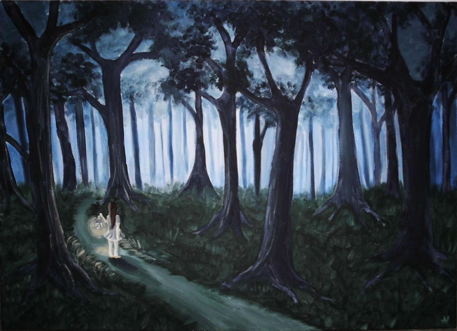 descriptive essay lost in the forest