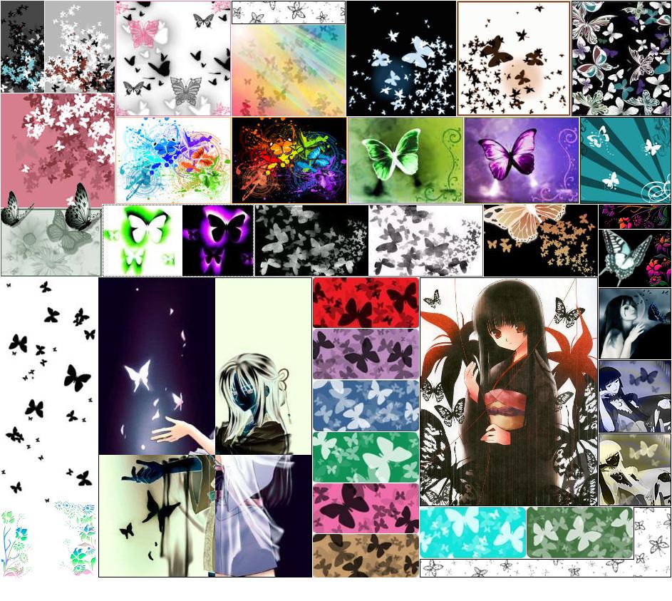 Anime Butterfly Wallpaper By IceSkating Otaku 813