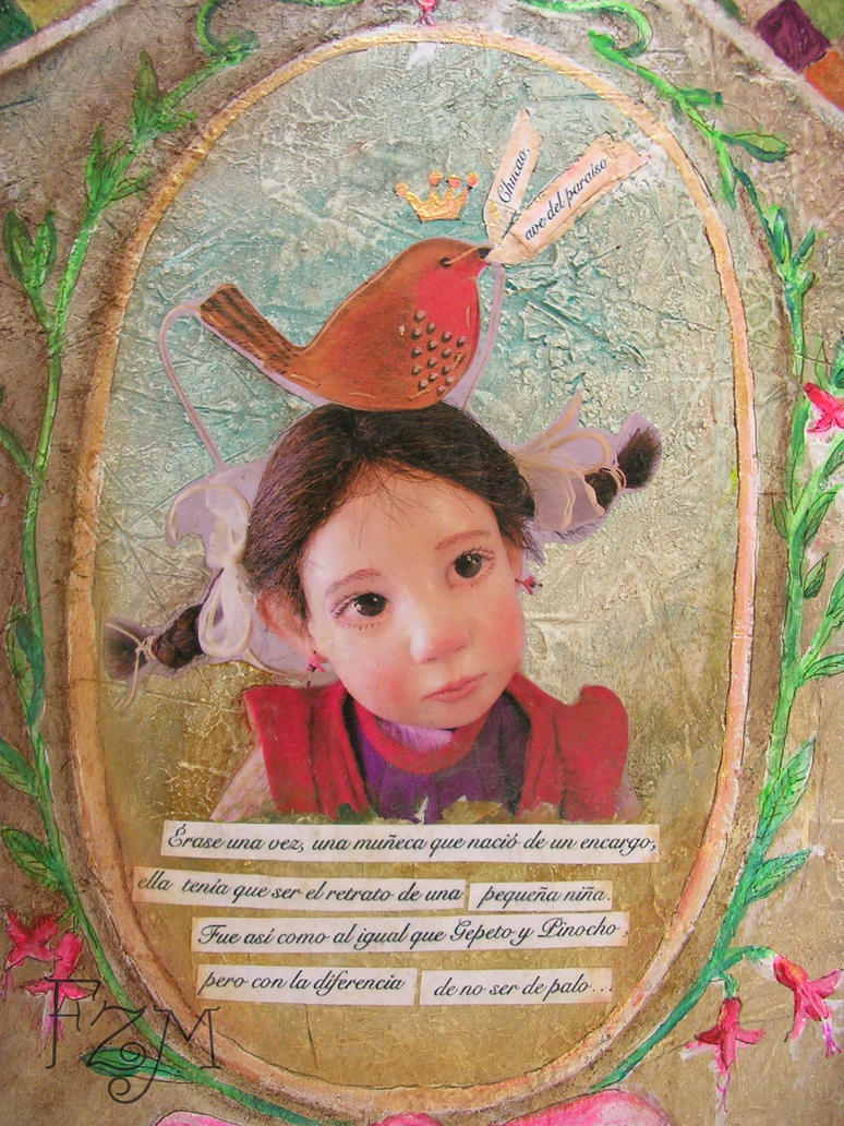 Detalle Retrato Caja Natalia by Franart1