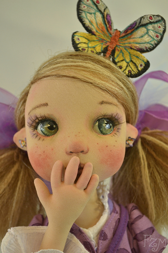 Violeta sorprendida by Franart1