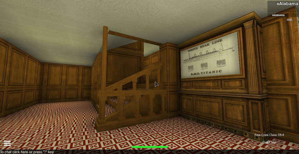 Titanic Second Class Staircase By Bronyofequestria142 On