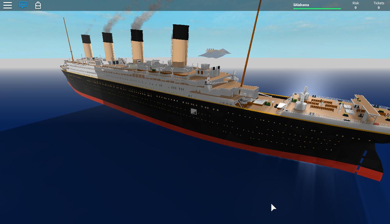 Roblox Titanic 3 0 By Bronyofequestria142 On Deviantart