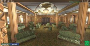 Titanic 1st Class lounge