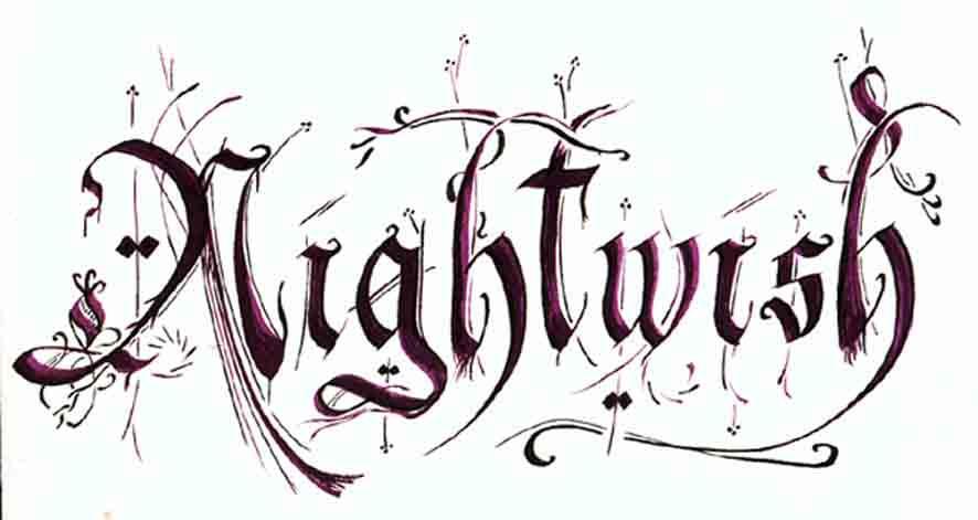 Nightwish Logo Font