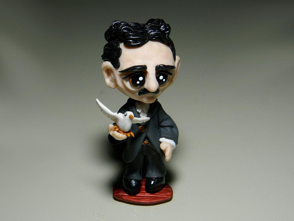 Pubg By Sodano On Deviantart: Chibi Nikola Tesla (1856