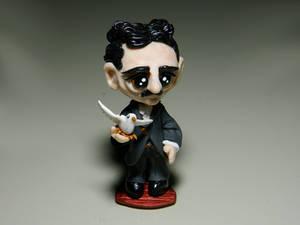 Chibi Nikola Tesla (1856 - 1943) - commission