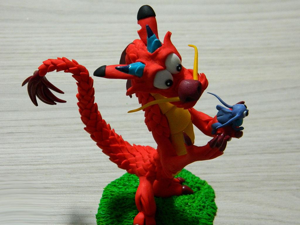 Mushu (Mulan animation - 1998)