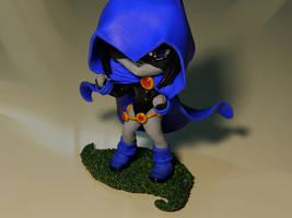 Chibi Raven (Fanart) by maga-01