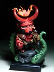 Big nose Hellboy (commission)