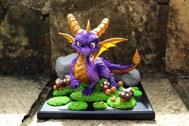 Spyro the Dragon (commission)