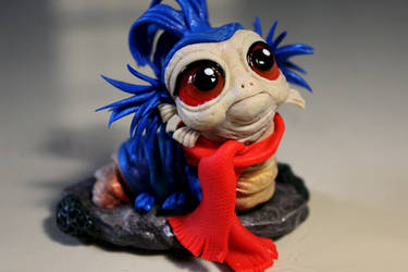 Baby Worm (inspired by Labyrinth movie - 1986)