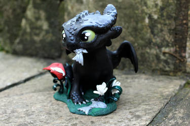 Chibi Toothless (commission)