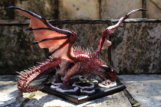 Safi'Jiiva - dragon sculpture (commissioned)