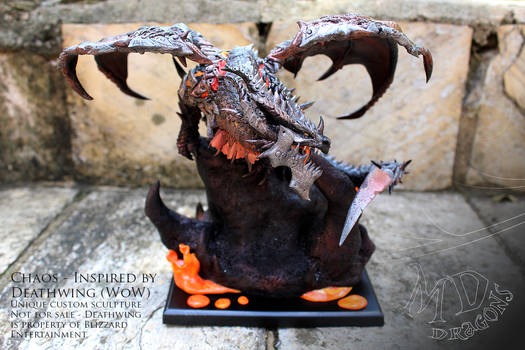 Dragon Deathwing - Chaos (commissioned)