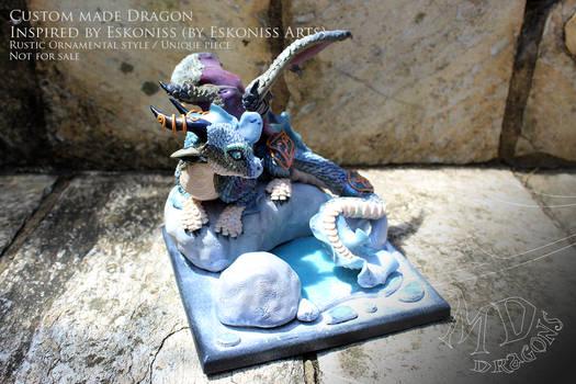 Dragoness Eskoniss (custom made sculpture)