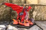 Alexstrasza (dragon sculpture / commissioned)
