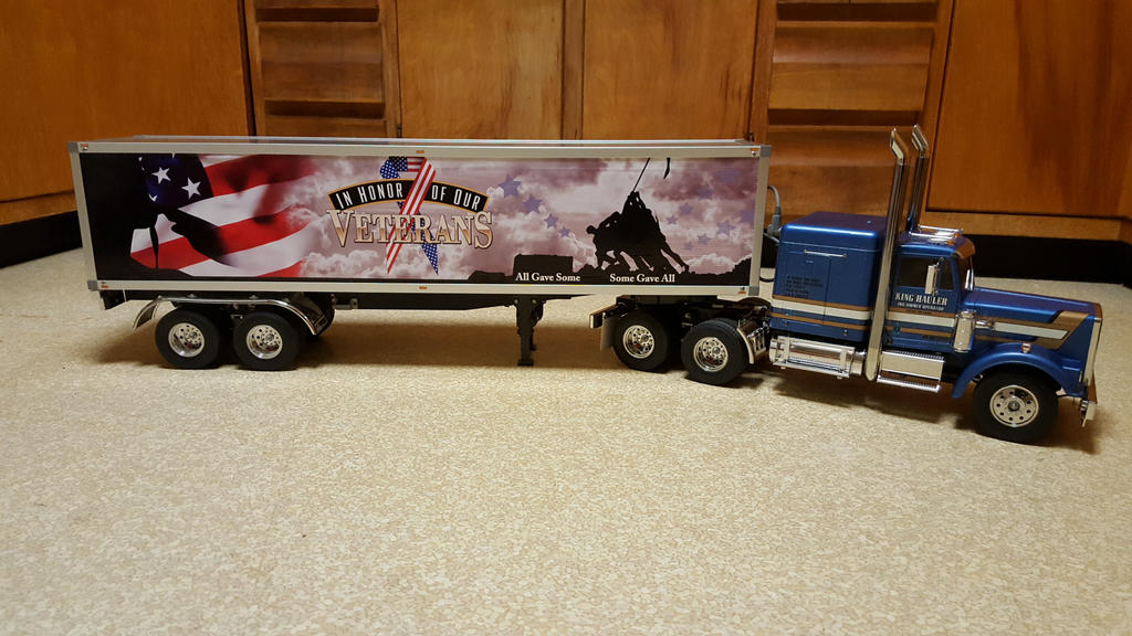 Salute to Veterans POW/MIA Tamiya RC Truck by Moody-Garage