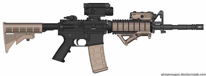 M4 Concept 2 by x-SkaiGuardian-x