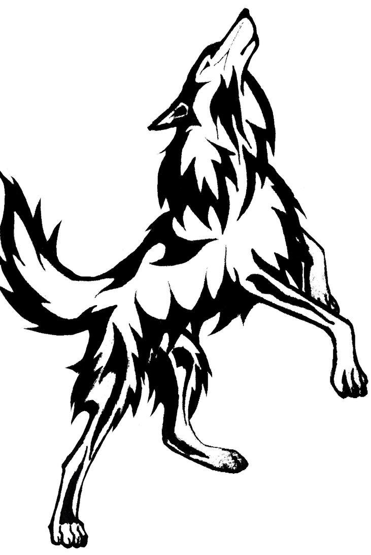 Full Body Wolf by AlphaWolfAl