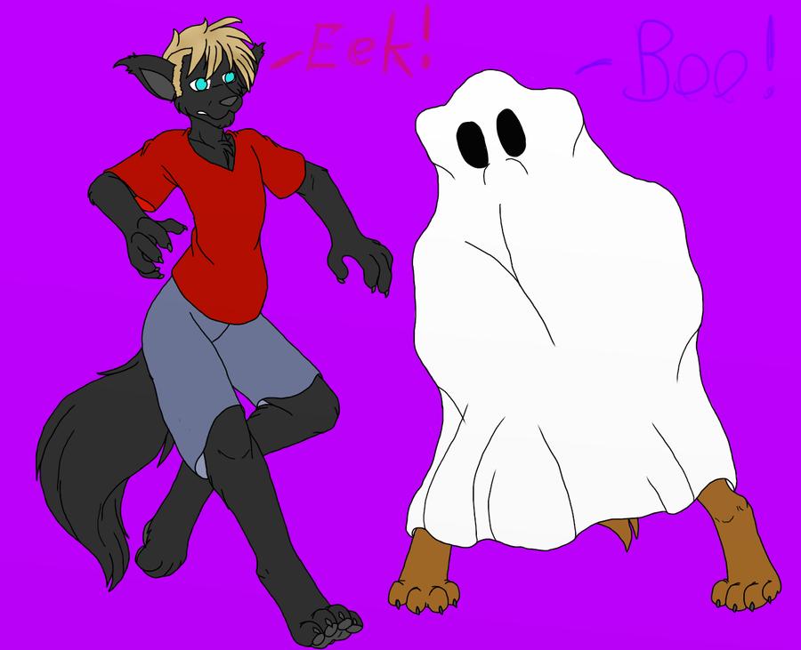 Boo! by AlphaWolfAl