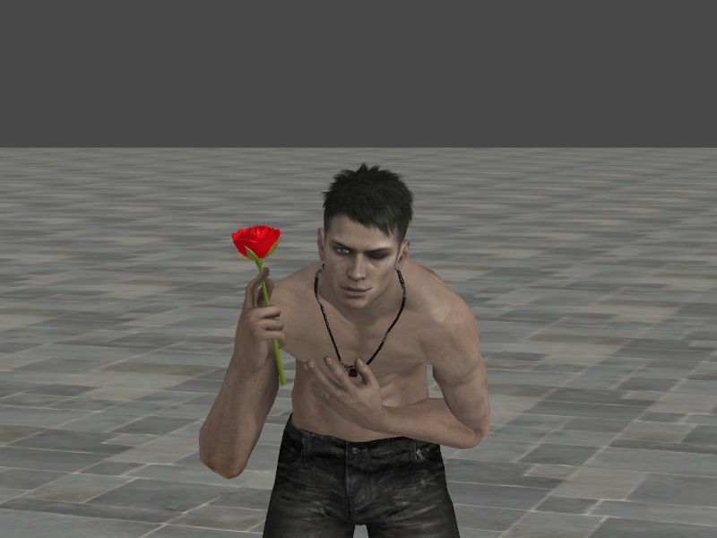 A Rose For A Beauty by AlphaWolfAl
