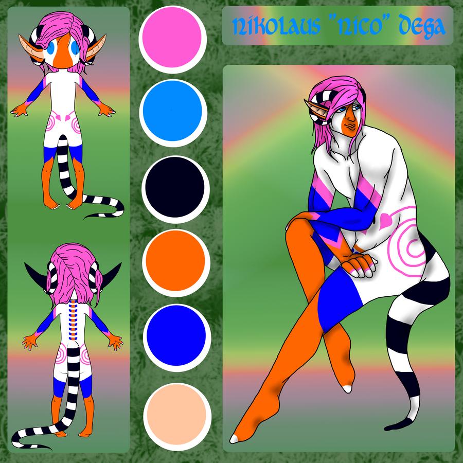 Nico Dega Reference by AlphaWolfAl