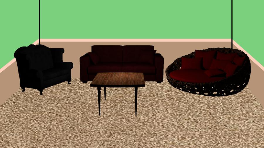 Rust's Living Room by AlphaWolfAl