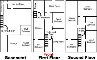Rust's House Floorplan