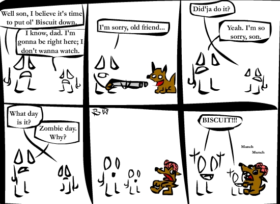 A Somewhat Morbid Comic by Snoofalah