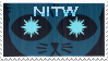 Night in the woods stamp by Jaloonart